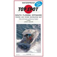 South Florida Map by Amazon Com Top Spot N210 South Florida Offshore Fishing Map