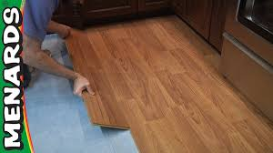 Laminate Floor Moisture Barrier Laminate Wood Flooring Buying Guide At Menards