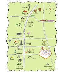 Caesars Palace Las Vegas Map by Las Vegas U2013 Laura Hooper Calligraphy