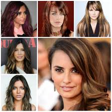 layered highlighted hair styles trendy highlights for brunette hair 2017 new haircuts to try for