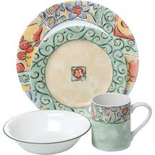Corelle 76 Piece Dinnerware Set Corelle Watercolors 16pc Dinnerware Set Walmart Com
