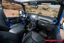 Jeep Wrangler Leather Interior Jeep Wrangler Maximum Performance Concept Vehicle Off Road Com