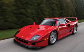 red ferrari model masterpiece ferrari f40 premier financial services