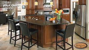 Make Your Own Kitchen Island by Cabinets Create Your Own Custom Showplace Island