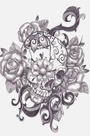 skull tattoo stencils pictures to pin on pinterest tattooskid