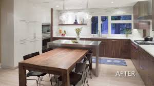 How To Remodel A Galley Kitchen Kitchen Design Remodel Of A 1960 U0027s House Creates A Well