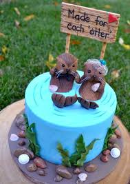 otter cake topper sea otter themed wedding cake search https www