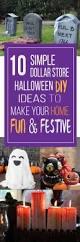 Halloween Diy Decorations by Spooky Decor On A Dime Dollar Store Halloween Cheap Halloween
