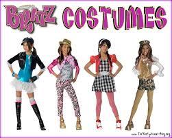 Jade Halloween Costume Bratz Costumes Cloe Yasmin Jade Sasha Thepartyanimal Blog
