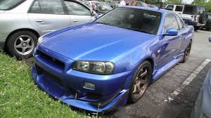 nissan skyline body for sale r34 gt r in the us startup driving and acceleration youtube