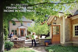 in law suites finding space and income in your house