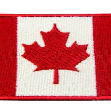 Canadian Flag Patch Amazon Com Embtao Canada Flag Embroidered Patch Canadian Maple
