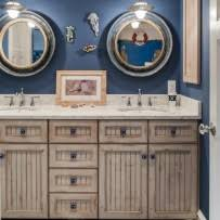 nautical bathroom mirrors nod to nautical bathroom five rooms with a nautical theme home at the beach