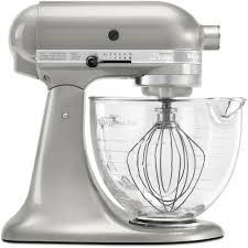 kitchen aid kitchenaid artisan designer 5 qt sugar pearl silver stand mixer