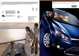 difference between ford focus models ford focus cc brochure 2010 by mustapha mondeo issuu