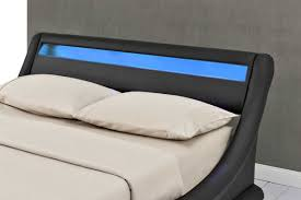 Ottoman Storage Bed Double by Madrid Led Lights Black Ottoman Storage Bed Frame Double King