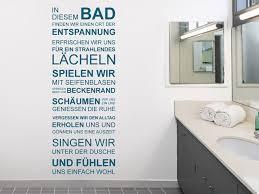 wandtattoo badezimmer wandtattoo in diesem bad finden wir entspannung bei homesticker de