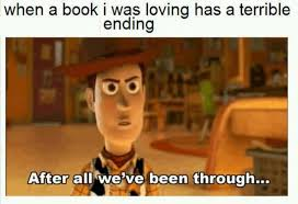 Book Meme - 11 things that happen when you finish a great book