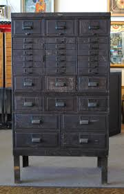 File Cabinets Wood For The Home by Vintage Industrial Stacking Metal Cabinet Maybe For Scrapbooking