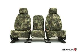 skanda kryptek camo ballistic canvas seat covers by coverking