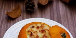 patisson cuisine pâtisson farci au bacon et fromage de chèvre facile et pas cher