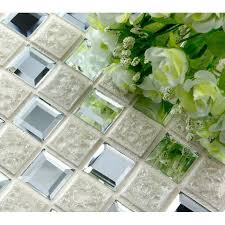 Mirrored Mosaic Tile Backsplash by Floor Tile Mirror Mosaic Tile Sheets Bathroom Wall Tiles Ceramic