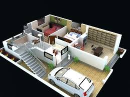 house design with floor plan 3d plans house design plans 3d surprising 1 home ground floor plan