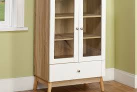 Country Buffet And Hutch Cabinet White Hutch With Glass Doors Exceptional White Kitchen