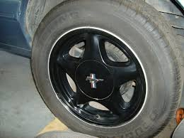 mustang pony wheels for sale 16 black 4 lug pony wheels ford mustang forums