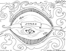 19 free printable jonah and the whale coloring pages free bible