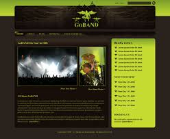 drupal web design create a killer band site with drupal a 6 part tutorial series