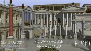 sketchup 2017 3d warehouse ep09 youtube