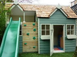 playhouse shed plans magnificent kids outdoor playhouse wood design ideas presents