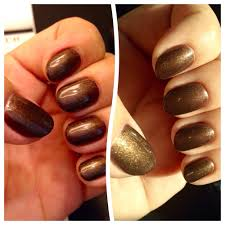 short round almond shaped natural nails looks different in