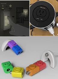 turn light socket into outlet 19 innovative and cool electrical outlets sockets and switches