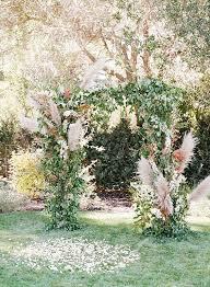 wedding arch greenery wedding trend 30 boho pas grass wedding ideas hi miss puff