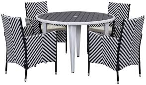 White Patio Dining Set - pat2503h outdoor home furnishings patio sets 5 piece outdoor