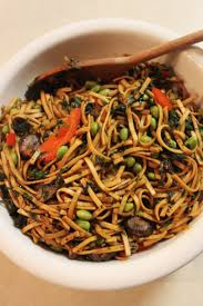 kosher noodles recipe vegetable lo mein with edamame spinach