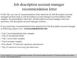 good resume for accounts manager job responsibilities duties account manager job description for resume recentresumes com