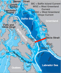 Ocean Currents Map Nearing The End Davis Strait 2015 U2013 Chief Scientist And Guest