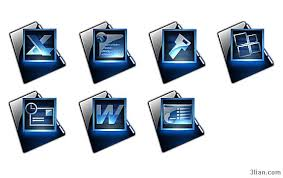 icon design software free download black blue png icon style office software icons free icon free download