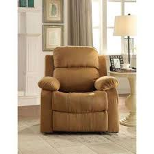 Wing Recliner Chair Chairs Living Room Furniture The Home Depot