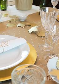 thanksgiving tablescape icebreaker in one