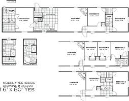 single wide mobile homes floor plans and pictures redman single wide mobile homes clayton yes 16 80 3c manufactured