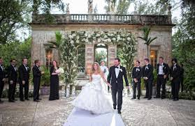 vizcaya wedding dave turnberry isle vizcaya museum and gardens
