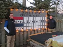 rocky river resident builds curling rink in his back yard founder