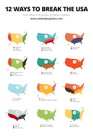 United States Map With Abbreviations by 12 Ways To Break The Usa U2013 Atlas Of Prejudice