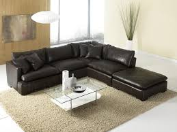 Houzz Sectional Sofas Incredible Modular Leather Sectional Sofa Shop Houzz Infini