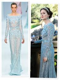 blair wedding dress gossip blair waldorf s wedding dress by elie saab instyle