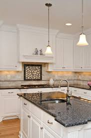 what tile goes with white cabinets 40 popular blue granite kitchen countertops design ideas